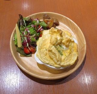 スフレドリアのセット Light Cafe イオンモール常滑