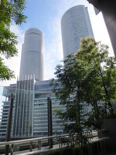 JRセントラルタワーズ 大名古屋ビルヂング5Fから撮影