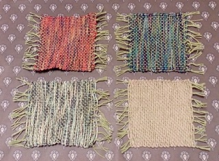 コースター 手織り 『私の時間 AVRIL』東急ハンズ名古屋店