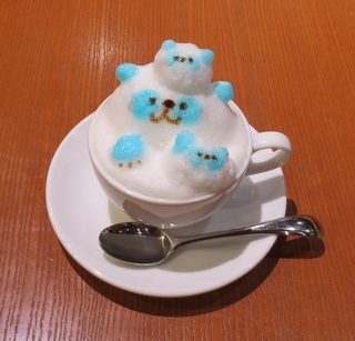 3D Latte Art☽Honey Latte Light Cafe Aeon Mall Tokoname