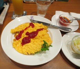 Dandelion Omurice Nihonbashi Sandaime Taimeiken