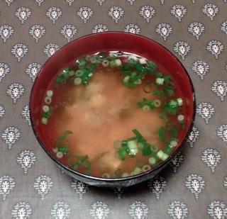 Miso Soup Katsuo Dashi